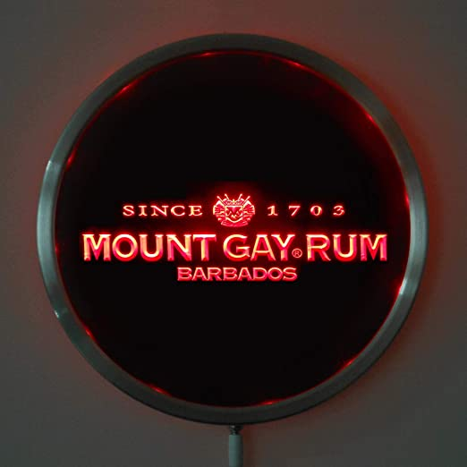 "4 Mount Gay Barbados Rum Key Chain 4/""  BRAND NEW"