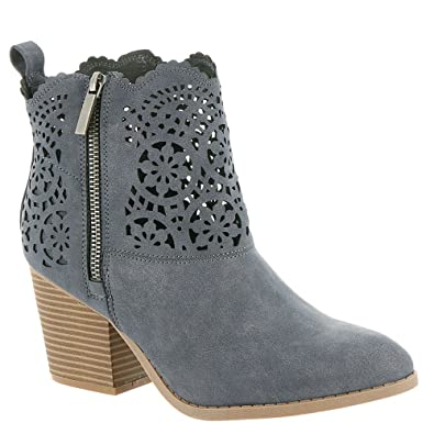 Women's RAM-Unity Ankle Boot With Cutout Design Denim