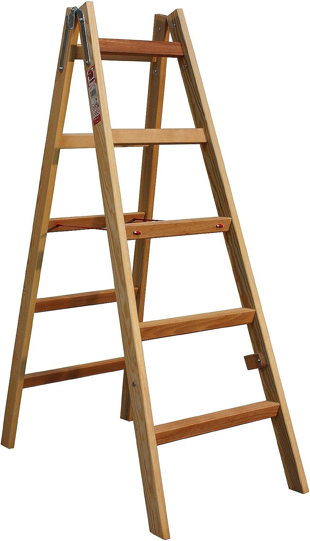 Caballete Escalera madera maciza 4/5/6/7/8 peldaños: Amazon.es: Bricolaje y herramientas