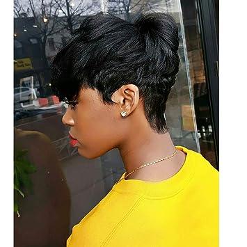 UDU Short Cute Pixie Cut Wig for African
