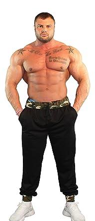 f27b0bb15f0453 Amazon.com  Physique Bodyware Men s Bodybuilding Pant With Pockets ...