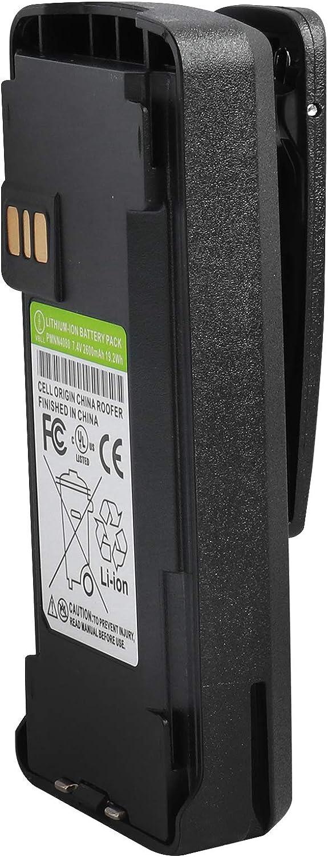 Guanshan PMNN4080 7.4V 2600mAh Li-ion Battery for Motorola CP185 CP476 CP477 CP1300 CP1600 CP1660 EP350 Radio