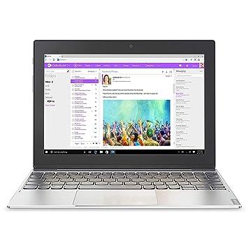 Lenovo Miix 310 - Ordenador portátil DE 10,1 Pulgadas (Intel Atom, SSD de 64 GB, Windows 10) Gris [Teclado Francés AZERTY]: Amazon.es: Informática