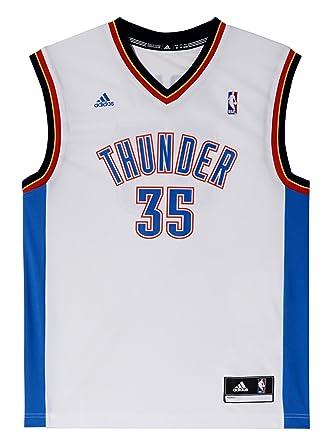 new styles 93559 fe5a4 adidas Men's Oklahoma City Thunder Kevin Durant NBA Replica Jersey