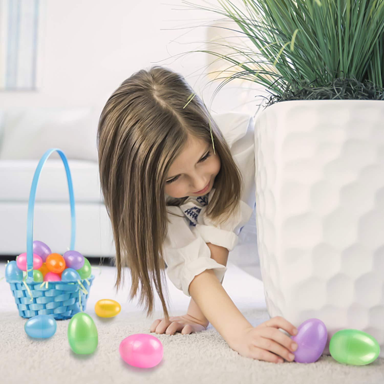 Stocking Stuffers Pinata Toys 12Pcs Easter Eggs Filled Mini Toys for Kids Easter Basket Stuffers,Easter Egg Fillers