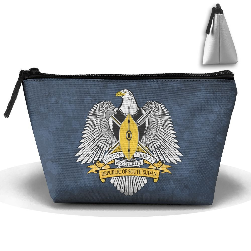 Simoner Coat Of Arms Of South Sudan Large Capacity Storage Bag Makeup Package Trapezoidal by Simoner (Image #1)