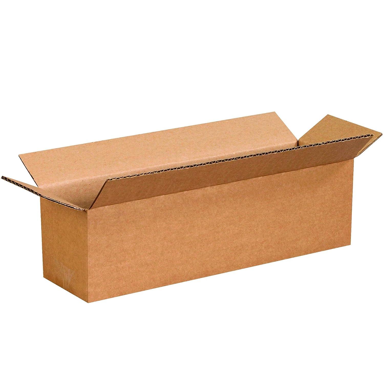 Kraft 25//Bundle Long Corrugated Boxes 13 x 3 x 3