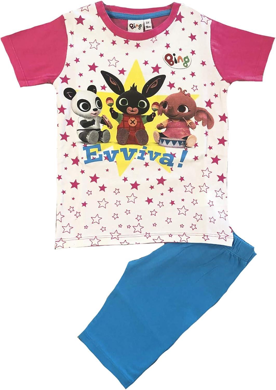 1 2 3 4 5 Anni Estate 2020 Bing Completo T-Shirt con Leggins Corti Mis