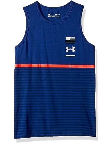 cfcff8d6bfddc Amazon.com  Tanks   Sleeveless Shirts - Boys  Sports   Outdoors