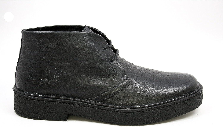 The Original British Walkers Mens Playboy High top Chukka Boot