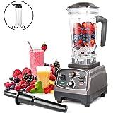 Blender Mixeur Smoothie,MengK 1400W 2L Mixeur Blender Professionnel avec 67oz BPA-Free et 6 Lames En Acier pour Smoothies, Fruits et Légumes, Glace et Moulin
