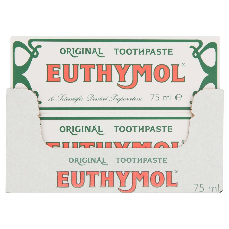 Euthymol Original Toothpaste 75ml (Case of 12)