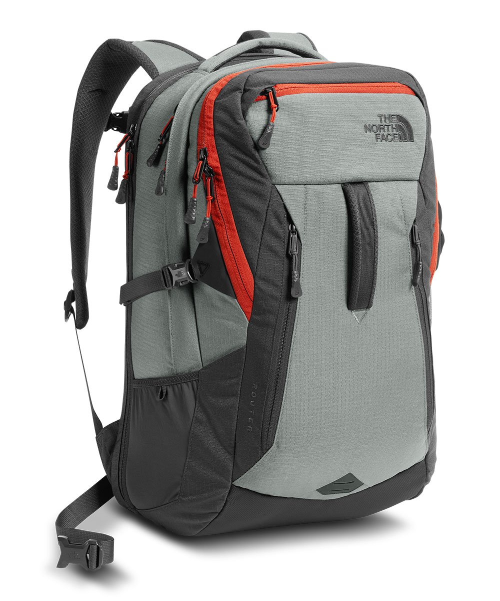 The North Face Router Laptop Backpack - 17'' (Sedona Sage)