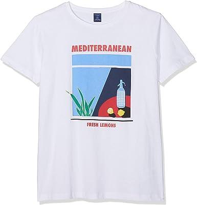 Springfield FR Vector Mediterranean Camiseta para Hombre