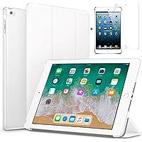 "for Apple iPad Mini 4 case.(7.9"") Ultra Slim Smart Case Folio with (Translucent Back) Stand Flip Cover case FREE With glossy screen guard For Apple iPad Mini 4 case.(7.9"") Models. Apple Pad Mini 4 (White)"