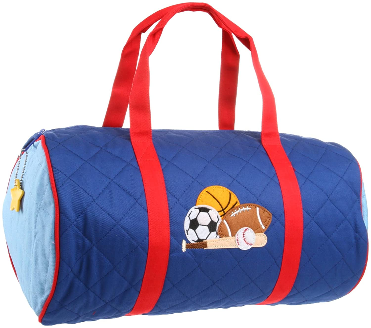 Quilted Duffle Sports Bag Stephan Joseph Kids Boys Bags