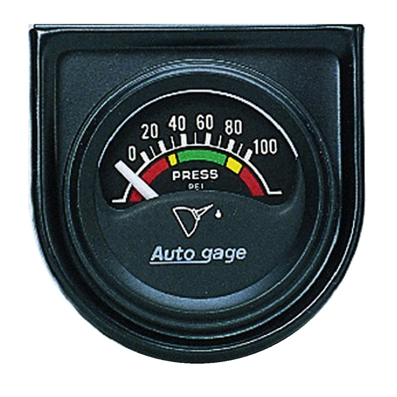 Amazon.com: Auto Meter 2354 Autogage Electric Oil Pressure Gauge ...