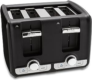 Oster TSSTTRWA41 4-Slice Toaster, Black
