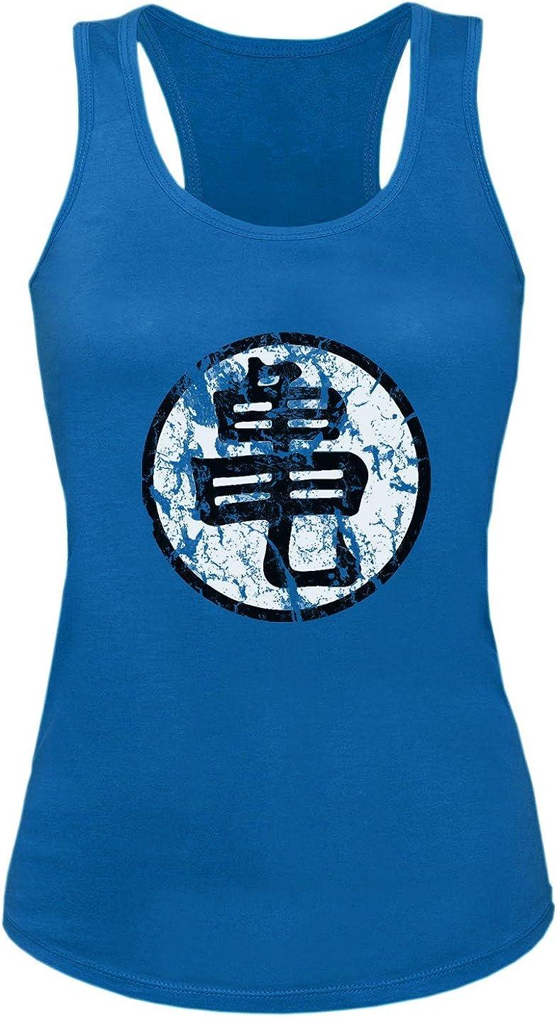 Goku Sign Damen Tank Top Dragon Master Son Ball Vegeta Turtle Roshi Db
