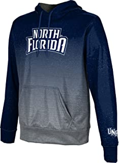 Heathered School Spirit Sweatshirt University of North Florida Mens Pullover Hoodie