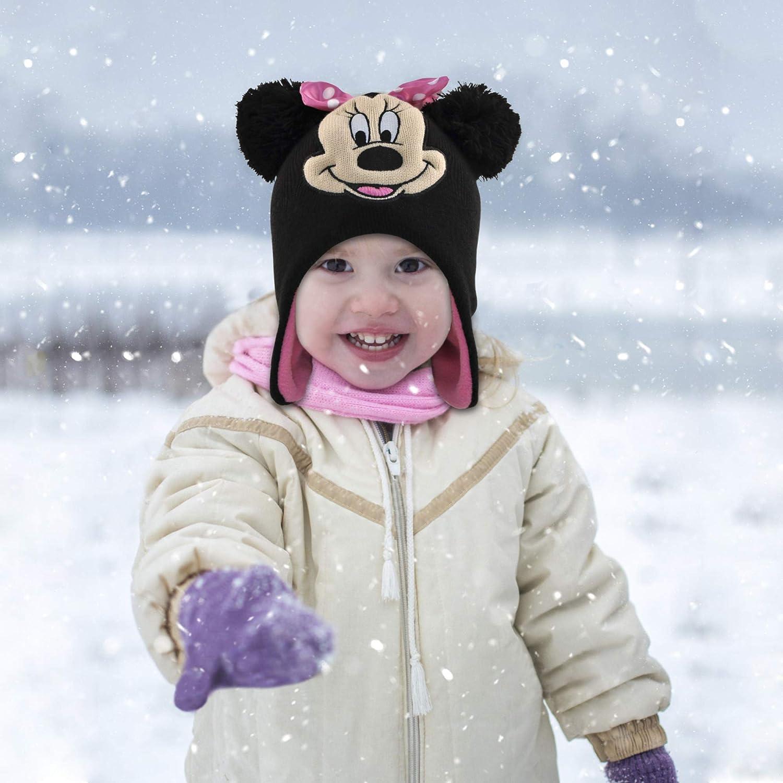 Disney Freeze Little Girls Minnie Polka Dot Bow Toddler Hoodie Red 2T