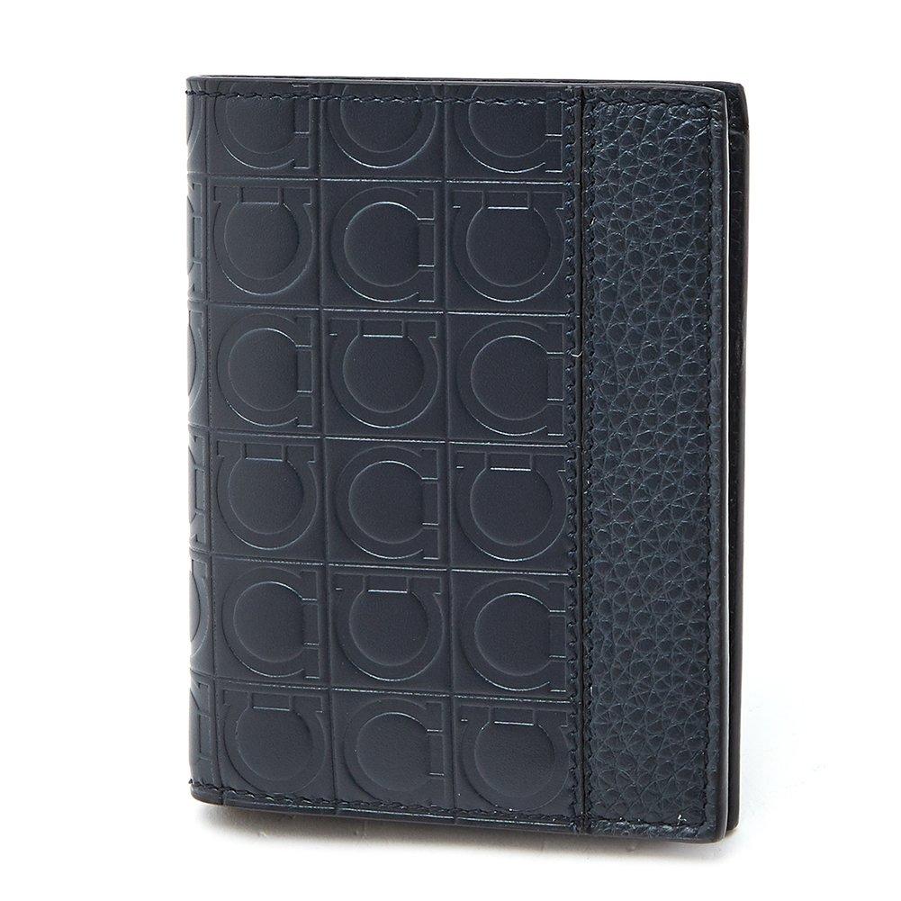 [サルヴァトーレ フェラガモ Salvatore Ferragamo] フィレンツェ メンズ 二つ折り財布 LAVAGNA [並行輸入品] B07DNGVSSM