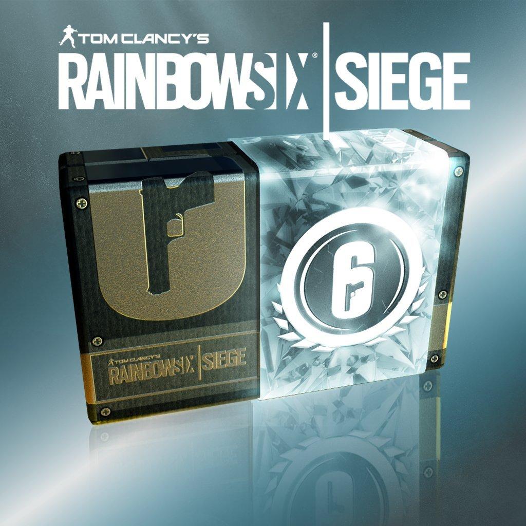 Tom Clancy's Rainbow Six Siege: Currency 7560 Credits - PS4 [Digital Code] by Ubisoft