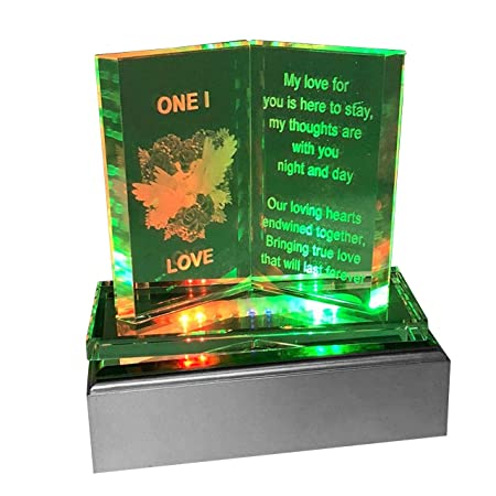 SAFRI Led Lights Wife Birthday Gift Girlfriend GF Her Fiance Women Ideal Present For Christmas Xmas