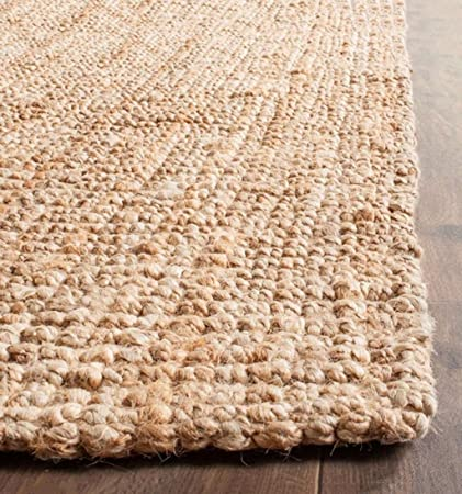 Onlymat Hand Made 100% Natural Jute Indoor Mat Jute Rug,Thick and Sturdy, Beautiful Look and Matches All Color Schemes, Environmentally Friendly