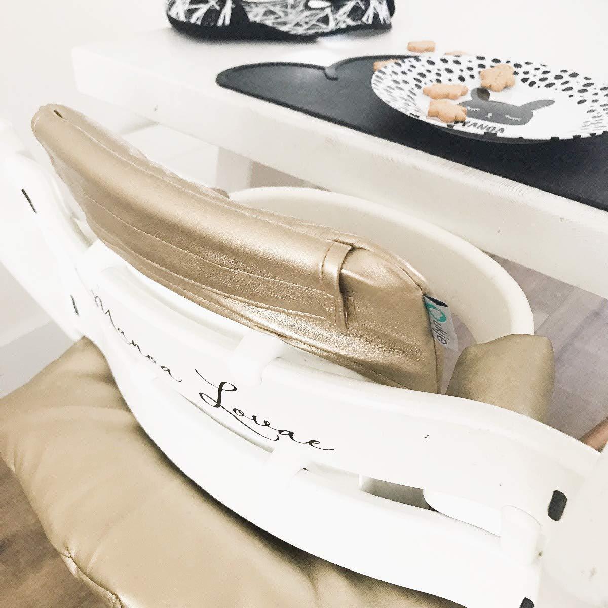 Sitzkissen Sitzverkleinerer Kissen von UKJE f/ür Stokke Tripp Trapp Beschichtet Praktisch und dick gepolstert Gr/ün Flamingo Maschinenwaschbar 2-teilig /Öko-Tex Baumwolle