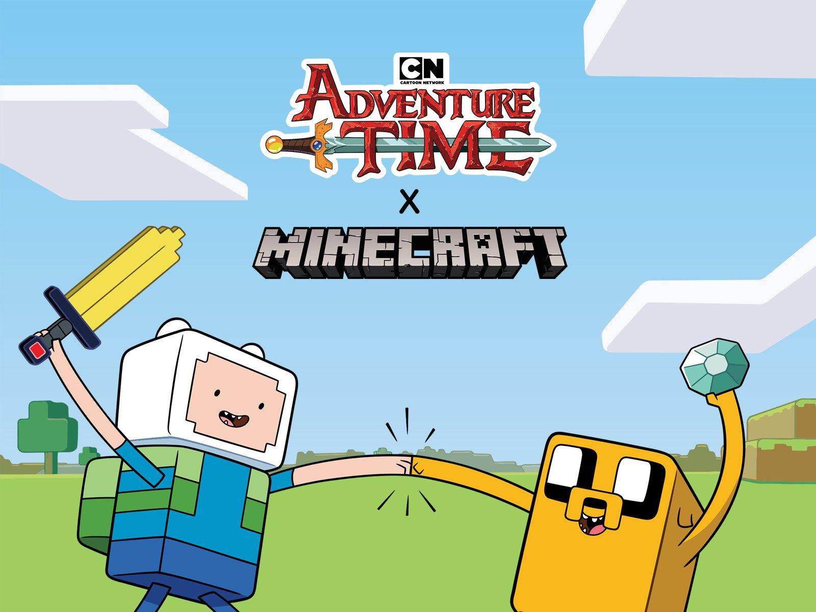 Amazon Com Adventure Time X Minecraft Diamonds And Lemons Season 1