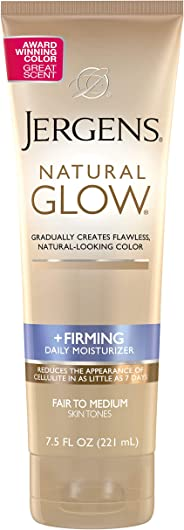 Jergens Loción Corporal Natural Glow Fair to Medium, 221 ml