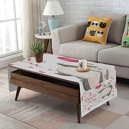 Sensational Amazon Com Iprint Linen Blend Tablecloth Side Pocket Design Dailytribune Chair Design For Home Dailytribuneorg
