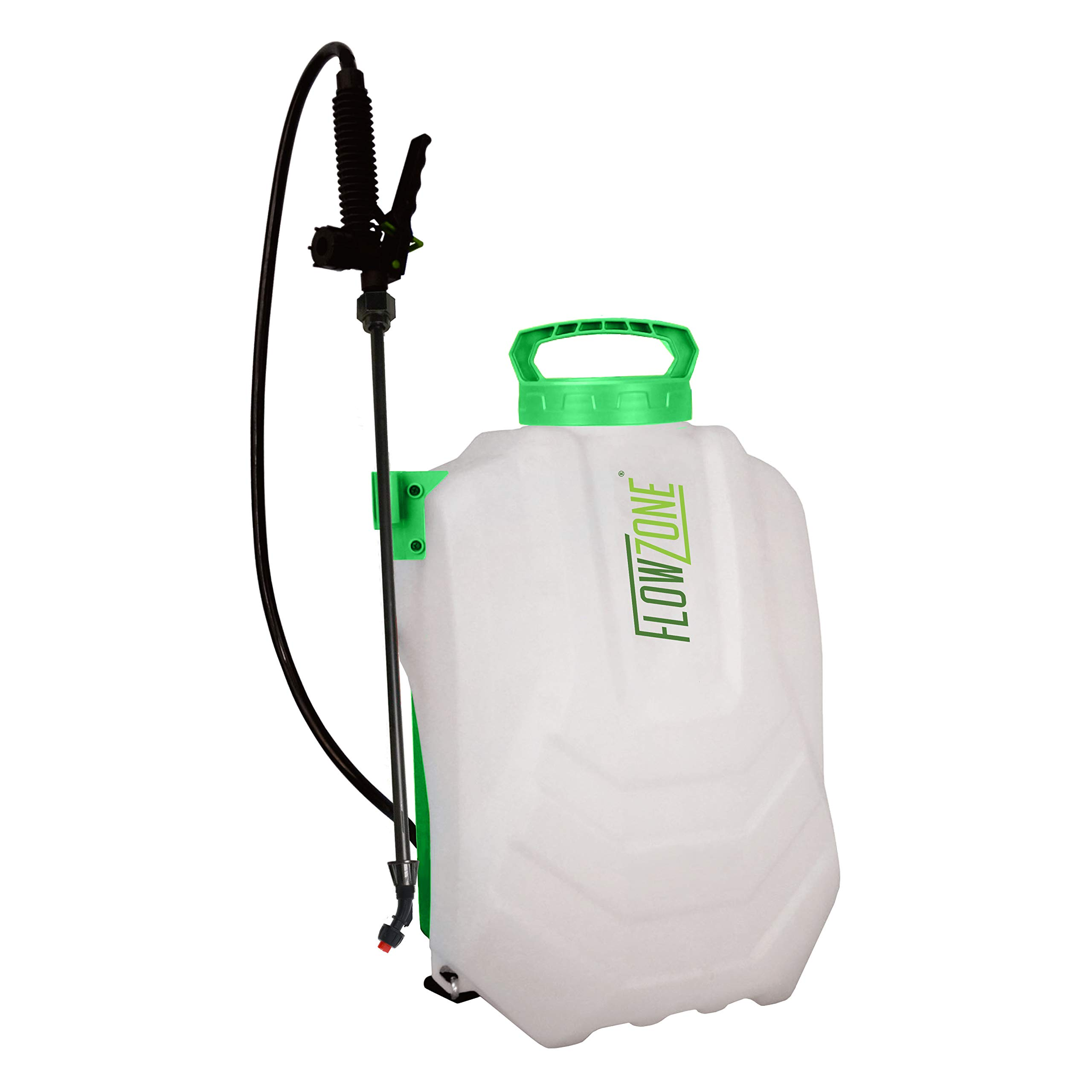 FlowZone Tornado 4-Gallon Multi-Use Continuous-Pressure 18V/2.6Ah Lithium-Ion Backpack Sprayer