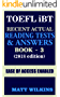TOEFL 2018: Recent Actual Reading Tests & Answers (Book - 3) (TOEFL Recent Actual Reading Tests & Answers) (English Edition)