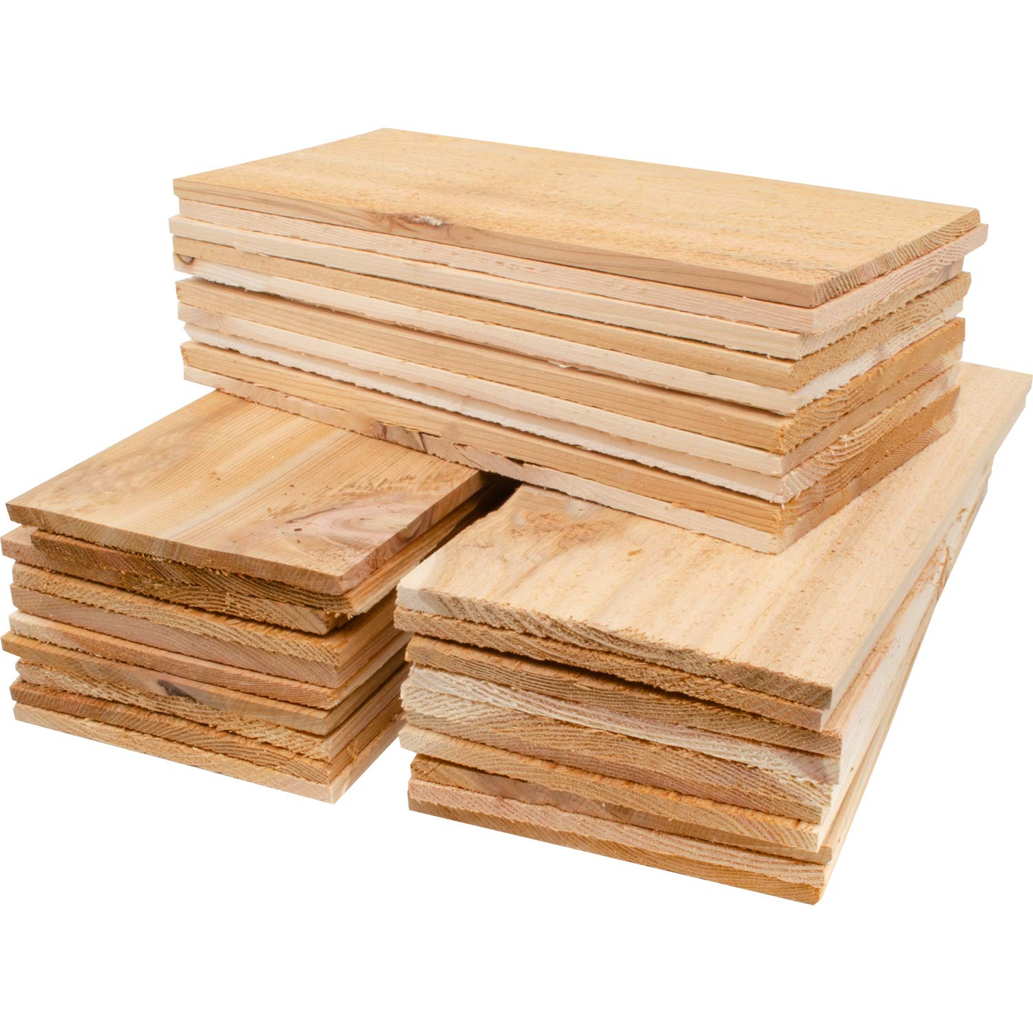 30 Pack Cedar Grilling Planks, Seconds by Grill Gourmet