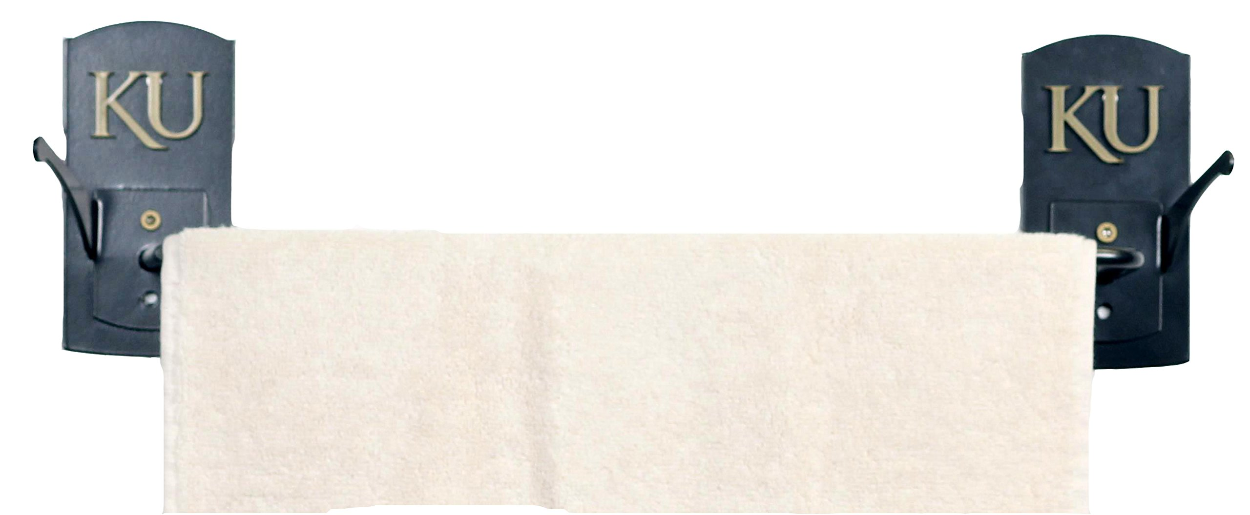 Henson Metal Works University of Kansas Collegiate Logo Towel Bar