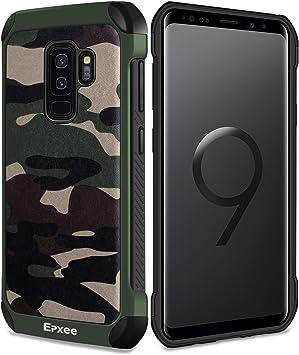 Epxee Funda para Samsung Galaxy S9 Plus, Silicona [Shock-Absorción ...