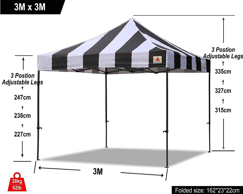 ABCCANOPY Pavillonstandf/ü/ße 4er Set mit Wasser//Sand bef/üllbar,Gewichte f/ür Pavillons Gartenzelte Festzelte,Wei/ß