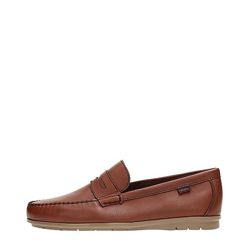CallagHan 85105 Mocasines Hombre Cuero Marrón 40: Amazon.es: Zapatos y complementos