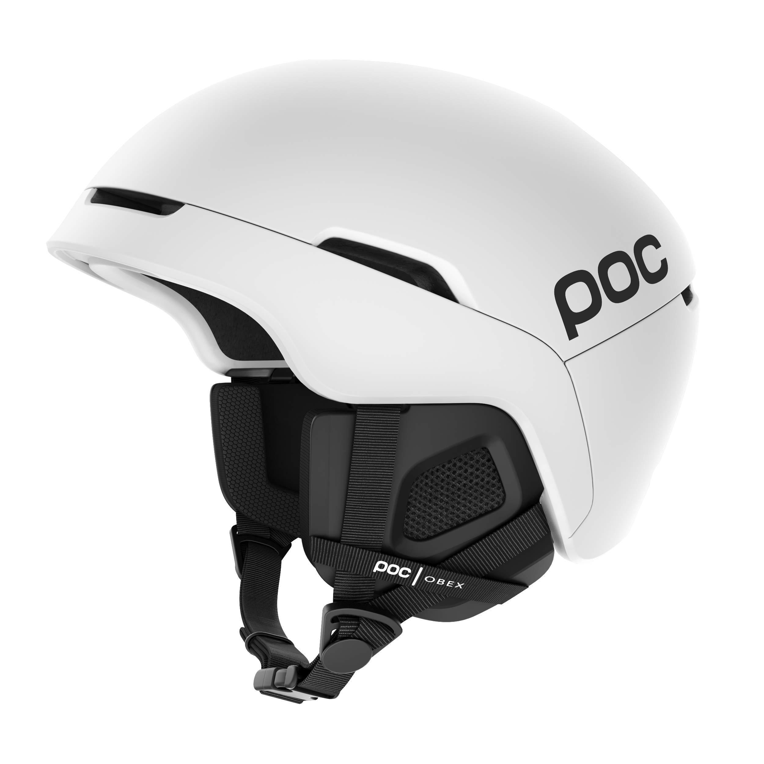 POC Obex SPIN Communication Hydrogen White XSS & Knit Cap Bundle