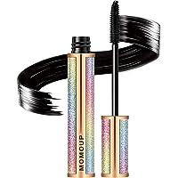 4D Silk Fiber Lash Mascara,Makeup Lash Volumizing Mascara for Eyelash Thickening, Lengthening Mascara,Natural Waterproof Smudge-Proof & Long Lasting Charming Eye Makeup