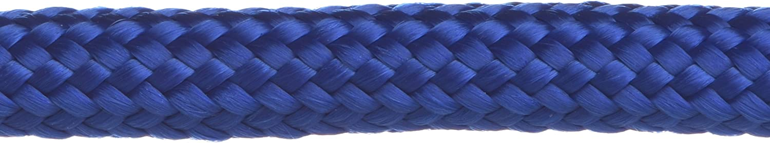 Handy Halter Anti-Pull Training Figure-of-Eight Lead 45in//114cm long in Soft 9mm Blue Braid stop your dog pulling in seconds