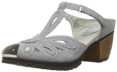 Jambu Women's Sahara Dress Sandal, Grey, ...