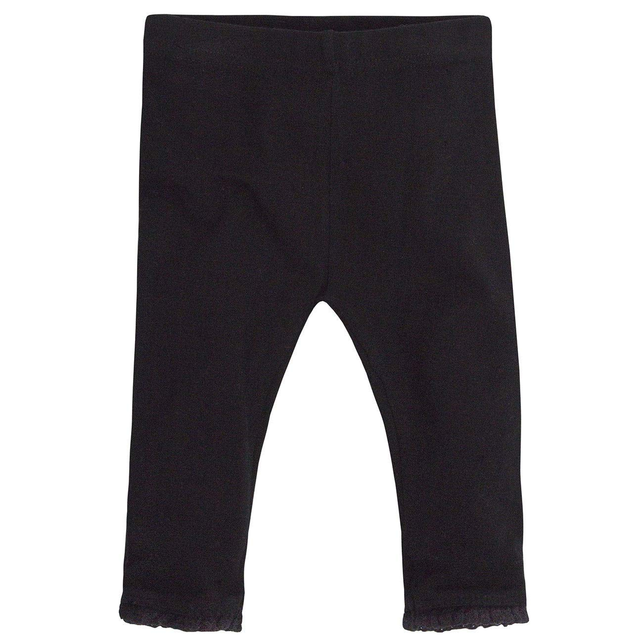 Baby Girls Two Pack LeggingCotton Rich with Elastane 0-3 Months up to 18-24 months