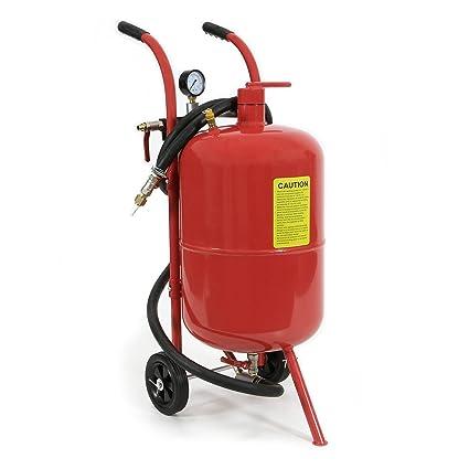 BRSF33 ® Mobiles Arena Inyección dispositivo de aire comprimido Arena Foco 36 l + Boquillas,