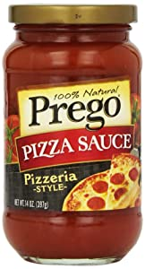 Prego Traditional Pizza Sauce, Traditional, 14 oz