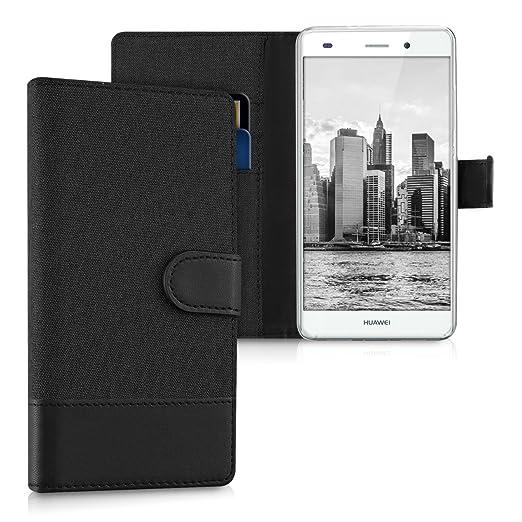 76 opinioni per kwmobile Custodia portafoglio per Huawei P8 Lite (2015)- Cover in simil pelle a