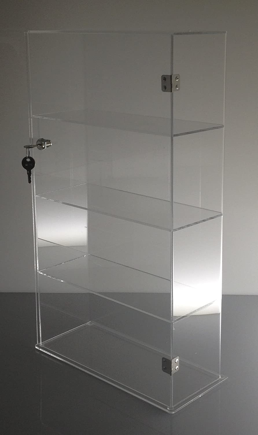 counter with ideal literature ml cake clear in pocket for countertop brochure eliquid display cabinet lock acrylic case