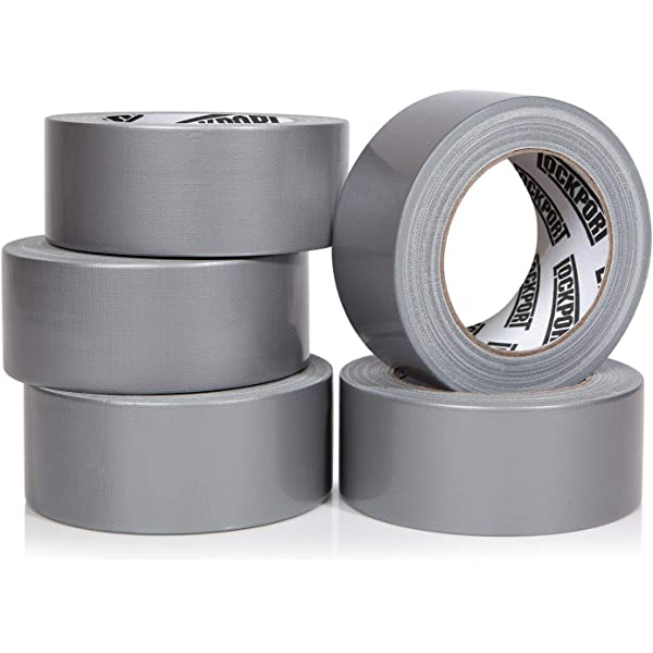 """Silver Duct Tape 2/""""x30/' Weather /& Water Resistant Camping Survival Emergency 2"""